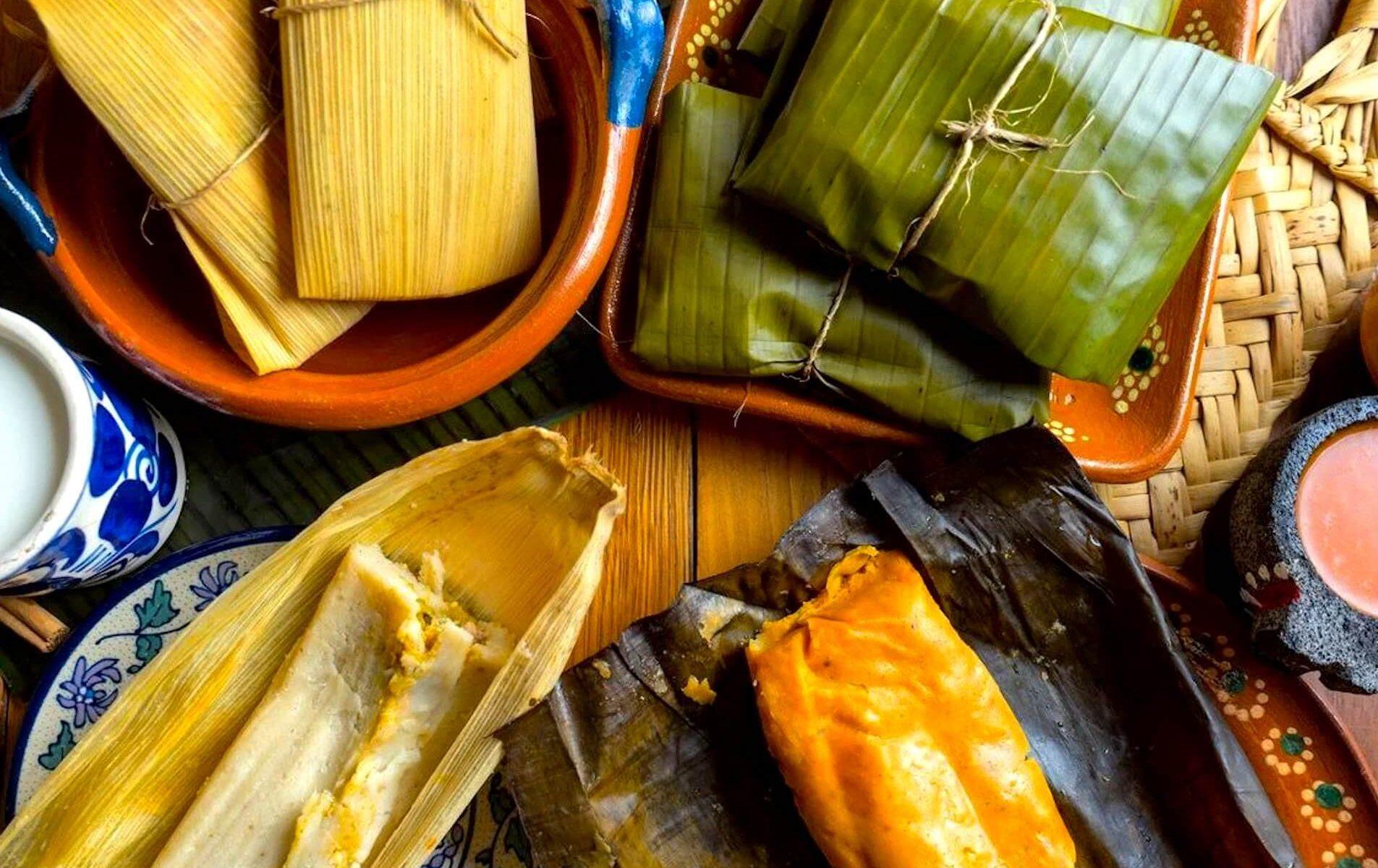 receitas tamales de feijão