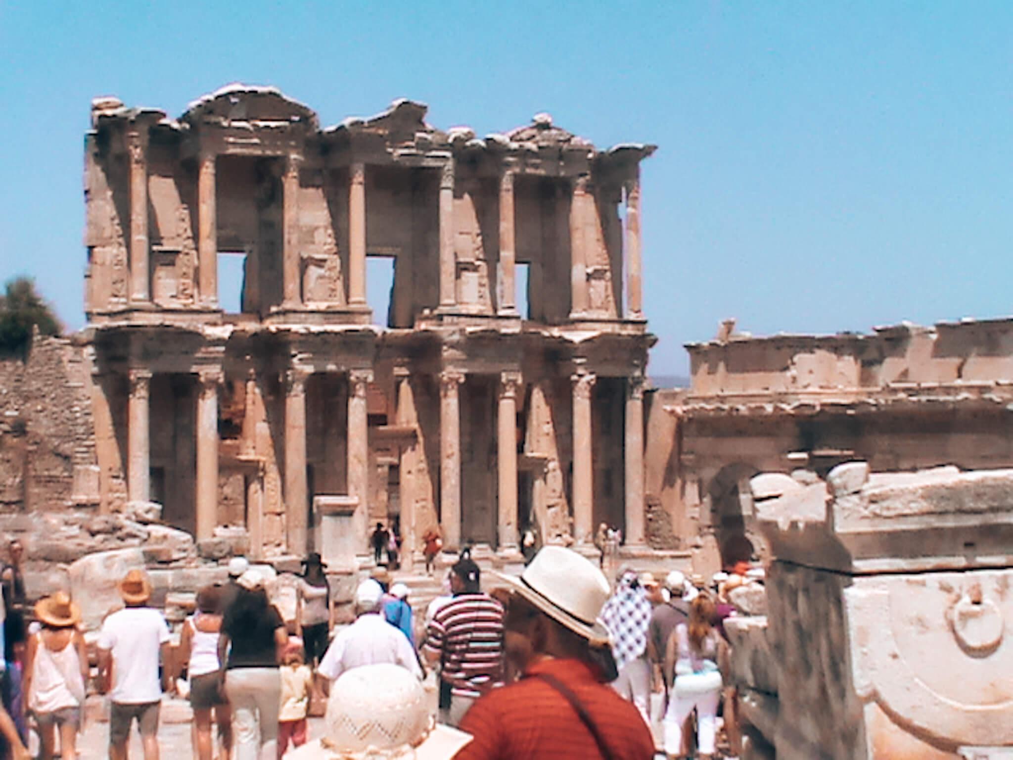Biblioteca de Celsus na Turquia