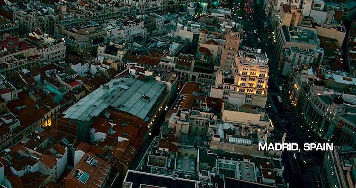 filmes em Madrid