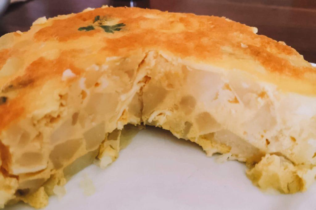 A nossa deliciosa tortilha espanhola © lavidaesmara