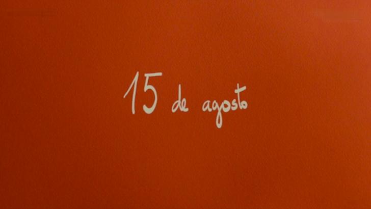 """O início do episódio do dia 15 de agosto em """"La Virgen de Agosto"""" © Los Ilusos Films"""