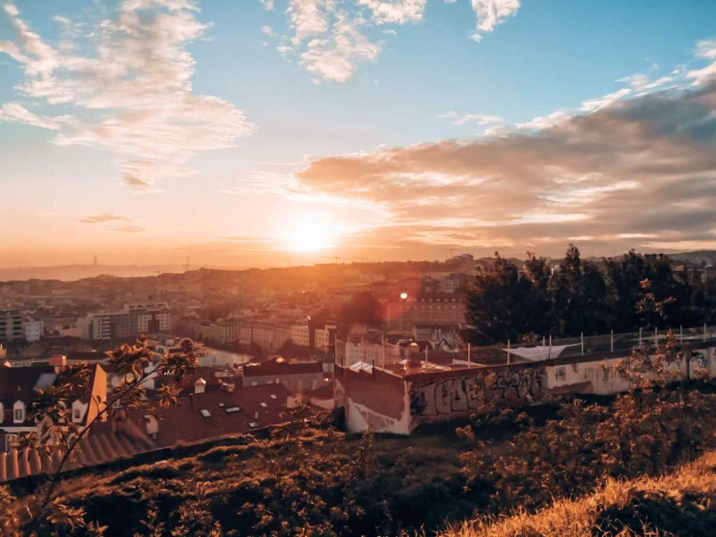 Bairro da Graça em Lisboa © lavidaesmara