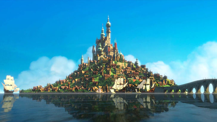 Entrelaçados © Walt Disney Pictures