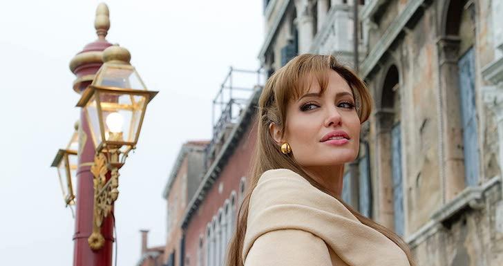 "Angelina Jolie em ""O Turista"" (2010) © Peter Mountain / CTMG, Inc."