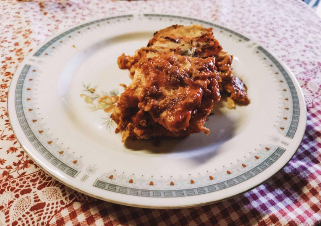 Prato de Parmigiana de Beringelas © lavidaesmara