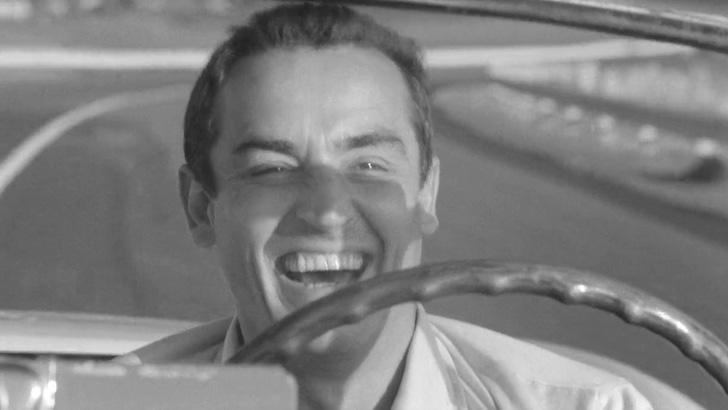 """Vittorio Gassman em """"A Ultrapassagem"""" (1962) © Incei Film"""