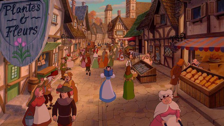 """A Bela e o Monstro"" (1991) © Walt Disney Pictures"