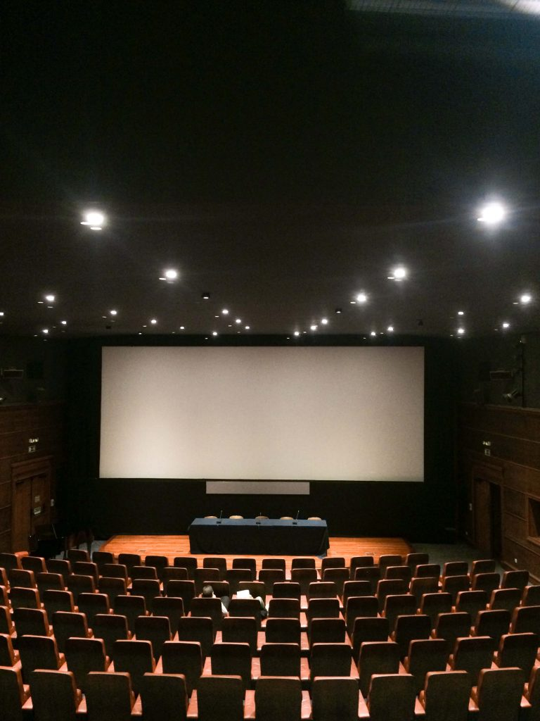 Sala Félix Ribeiro na Cinemateca Portuguesa © lavidaesmara