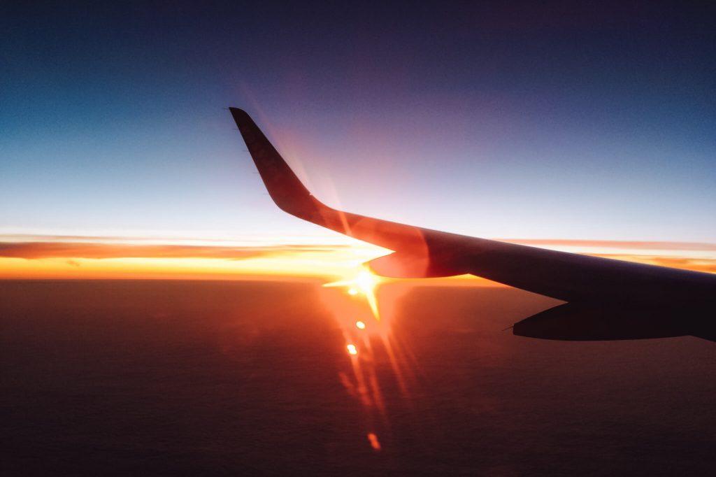 Viagem de avião © lavidaesmara