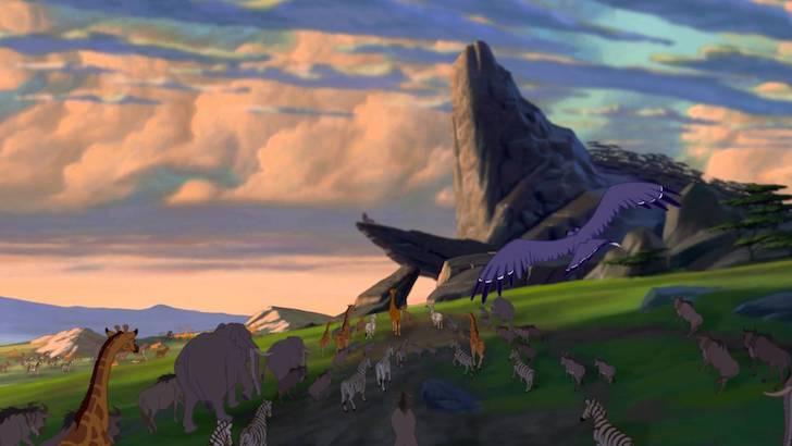"""""""O Rei Leão"""" (1994) © Walt Disney Pictures"""