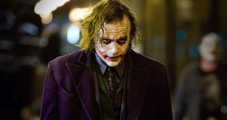 """Heath Ledger em """"O Cavaleiro das Trevas"""" © Warner Bros. / Legendary Entertainment / Syncopy"""