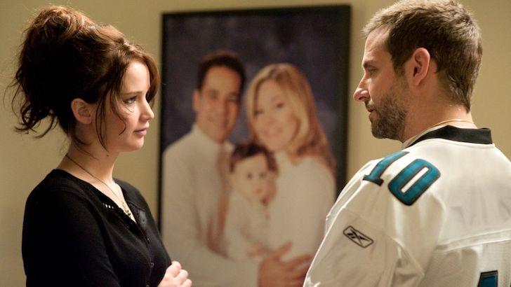 """Jennifer Lawrence e Bradley Cooper em """"Guia para um Final Feliz"""" © The Weinstein Company"""