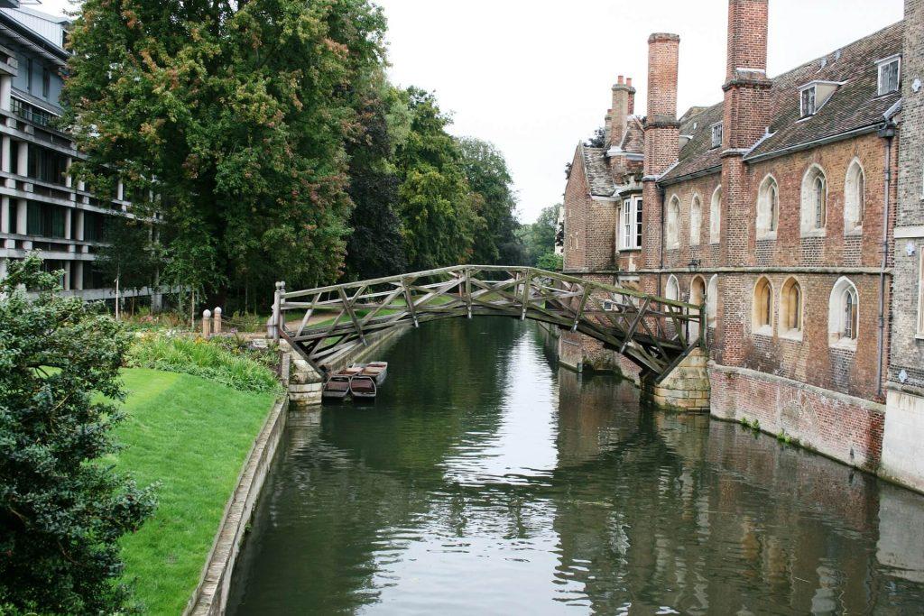 Ponte da Matemática em Cambridge © Pixabay