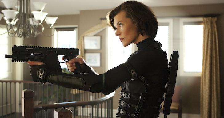 """Milla Jovovich em """"Resident Evil: Retaliação"""" (2012) © Constantin Film"""