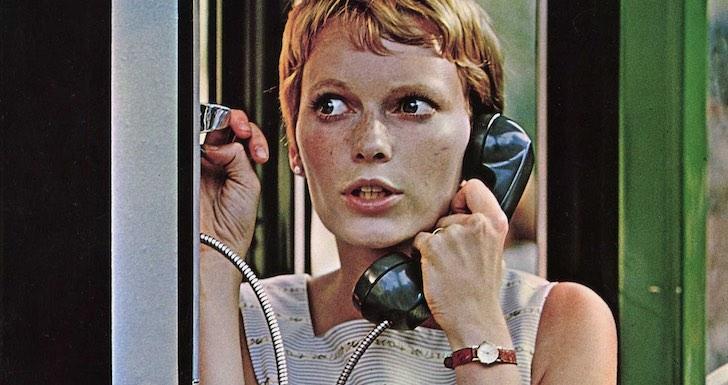 """Mia Farrow em """"A Semente do Diabo"""" (1968) © William Castle Productions"""