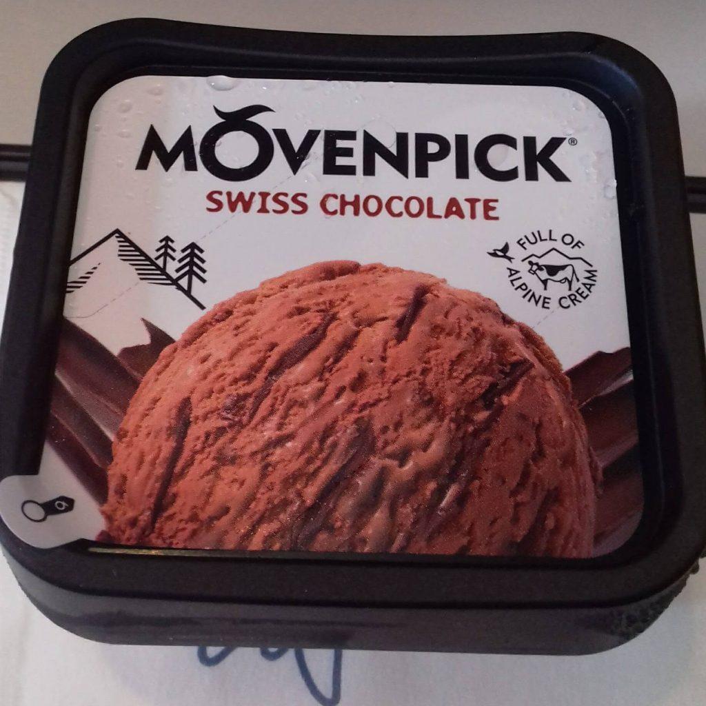 Gelado de chocolate suíço © lavidaesmara