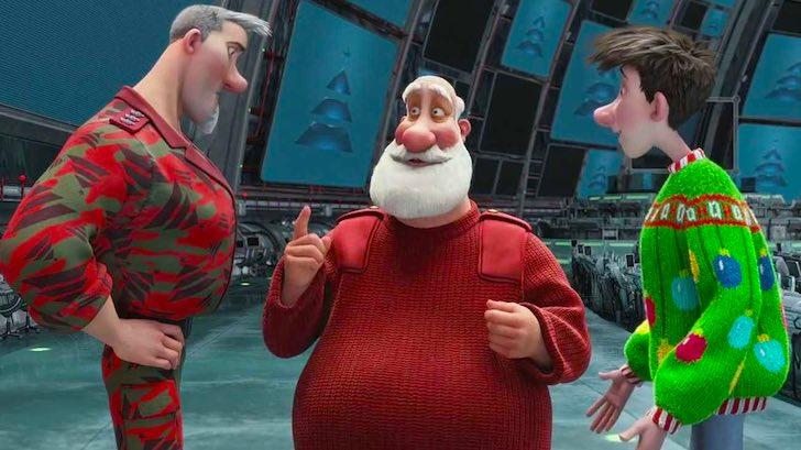 Magia de Natal: Arthur Christmas © Aardman Animations