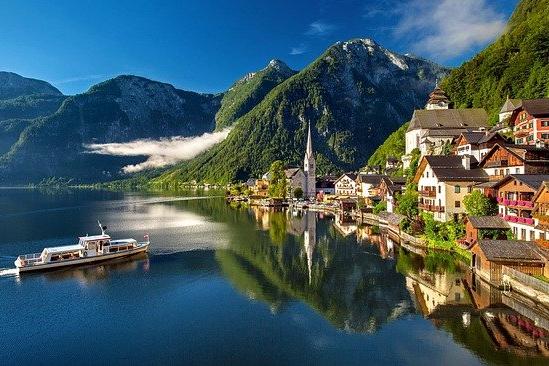 Hallstatt, Áustria © Pixabay