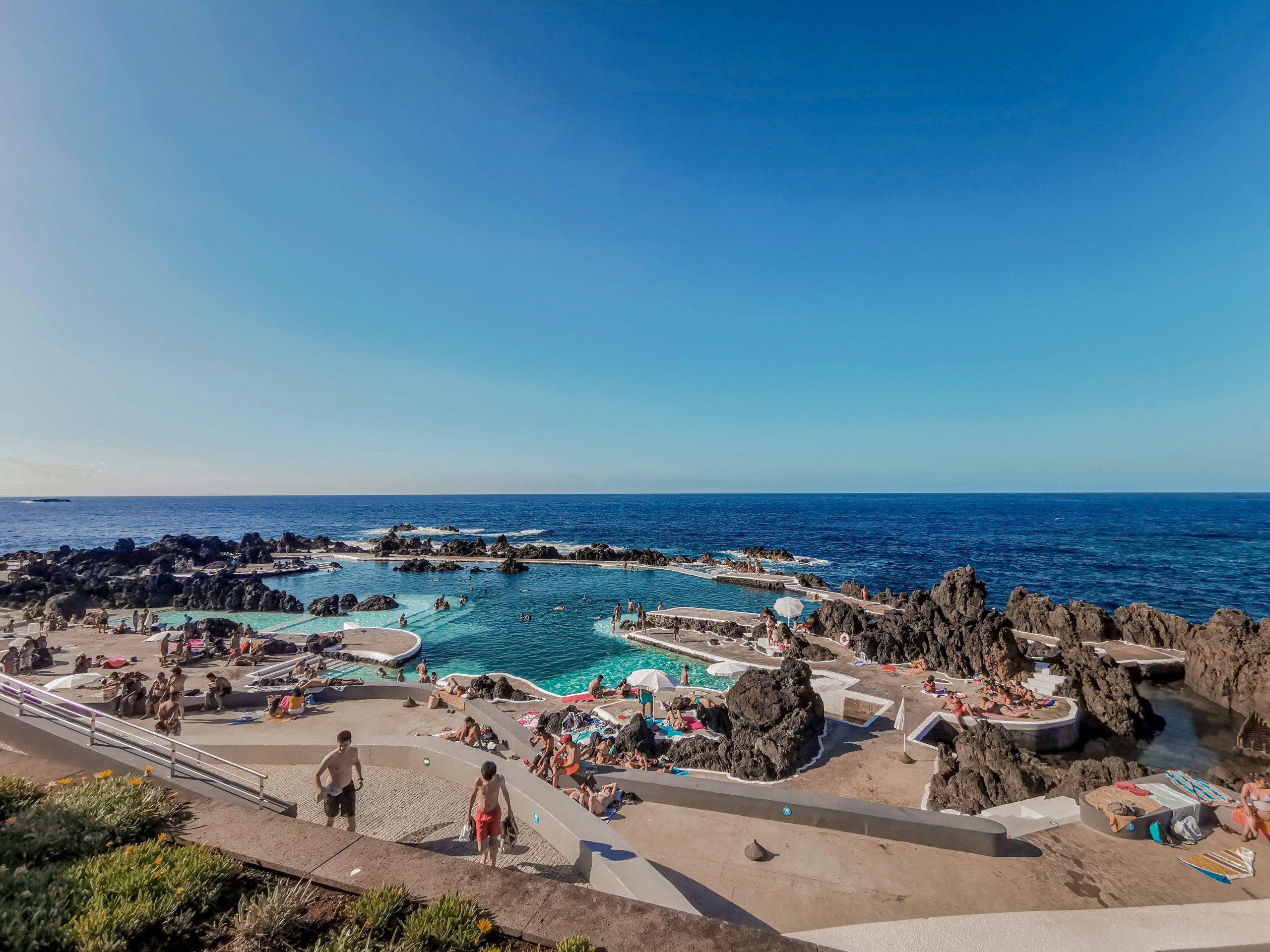 melhores piscinas da Ilha da Madeira