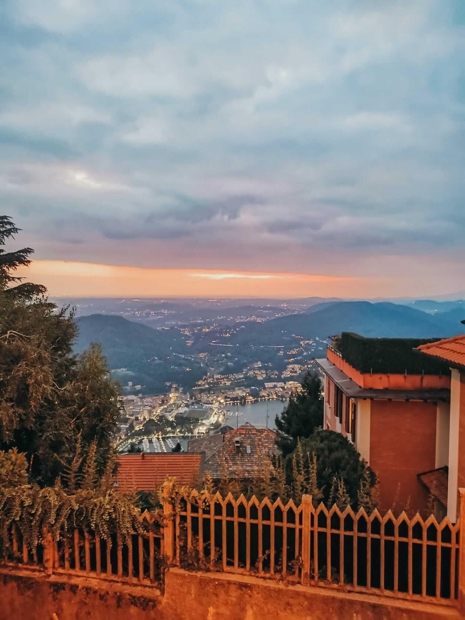 Brunate na Itália