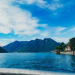 Lago de Como na Itália